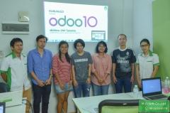 ภาพบรรยากาศ อบรม Odoo10 ครั้งที่ 22