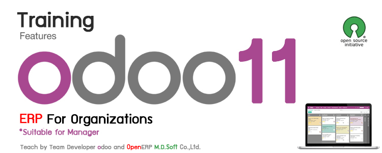 Training Features Odoo 11 ERP company