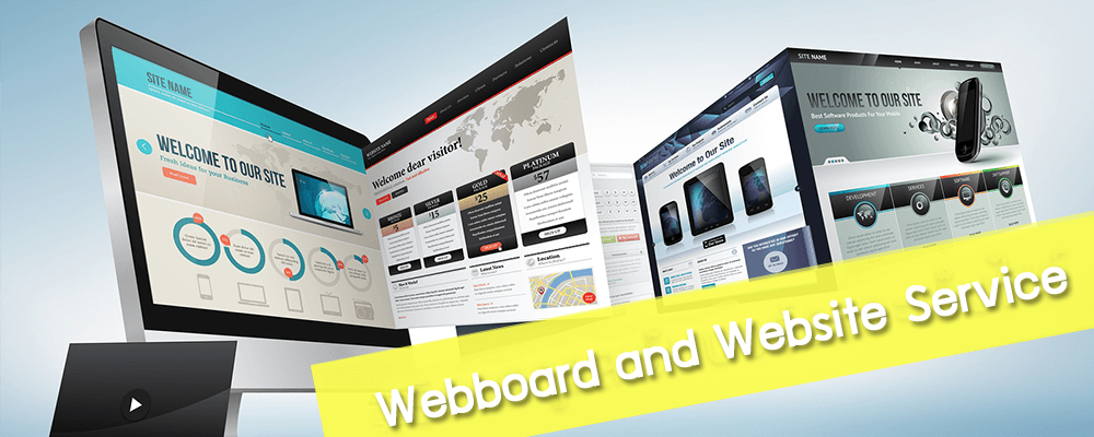 Website and Webboard Services